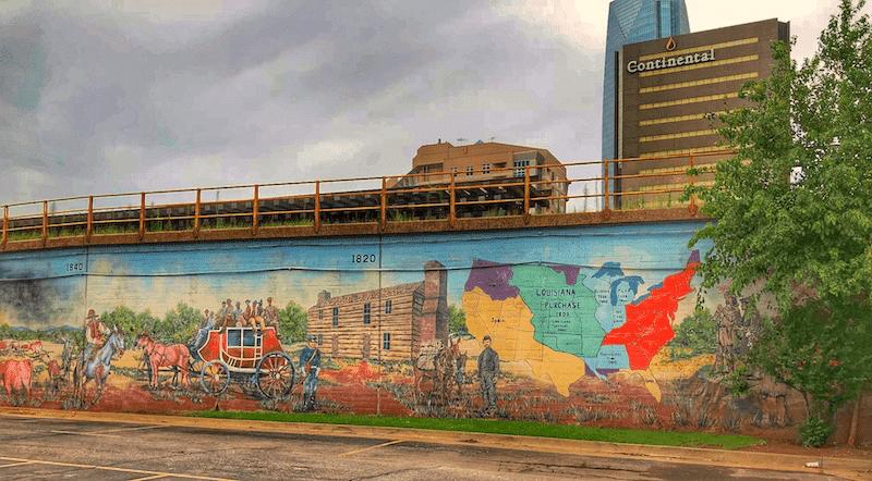 Oklahoma! Bricktown Mural