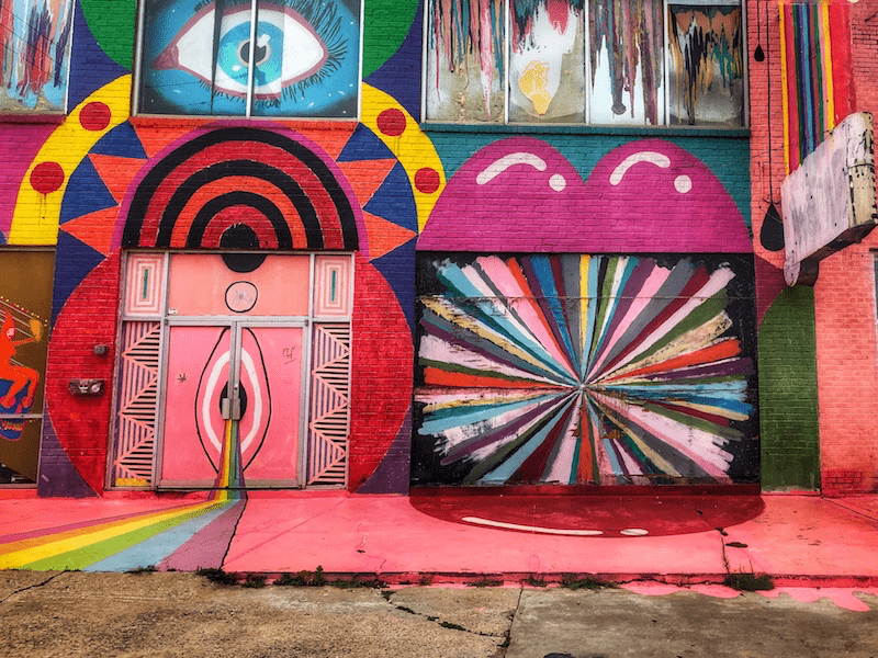 The Womb - OKC Murals