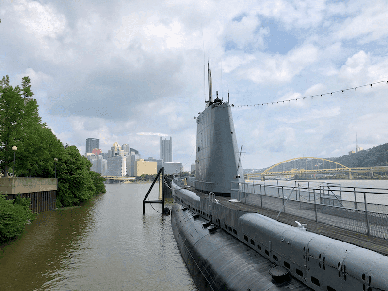USS Requin Submarine