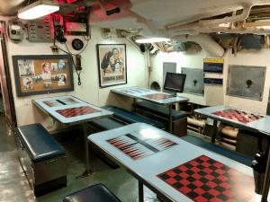 USS Requin Submarine Rec Room
