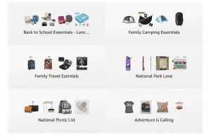 Shopping list on Amazon