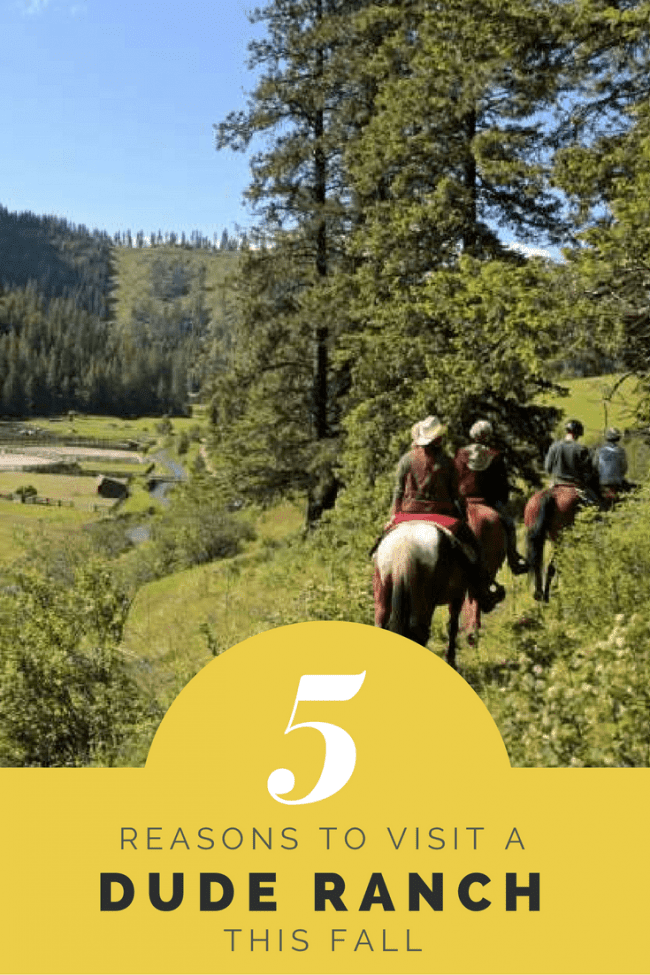 You deserve a getaway this fall - Here are 5 Reasons you should visit a Dude Ranch this Fall #travel #wildwest #adventure #familyfun #vacation