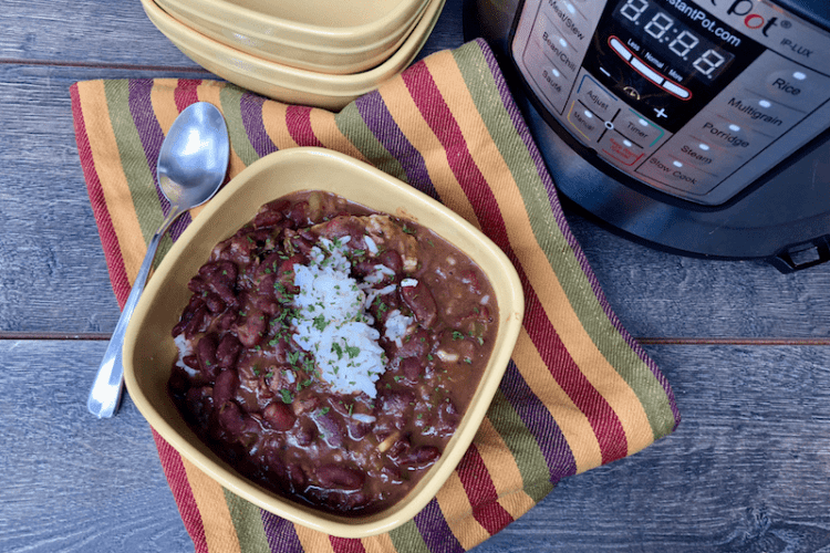 New Orleans Classic – Instant Pot Red Beans and Rice