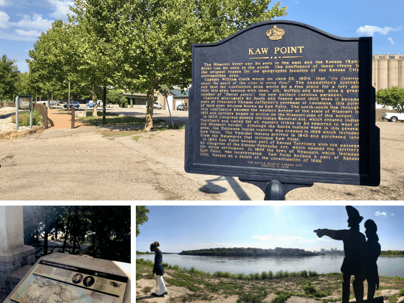 Kaw Point Lewis & Clark Point