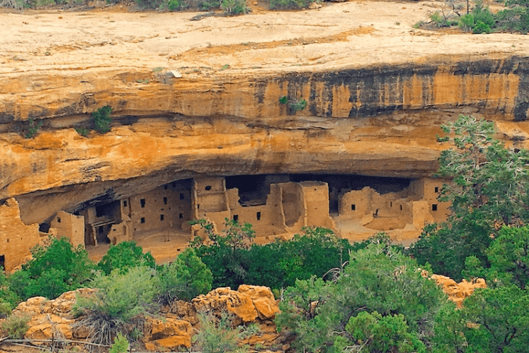 This is the ONLY Mesa Verde Camping Site Inside the Park