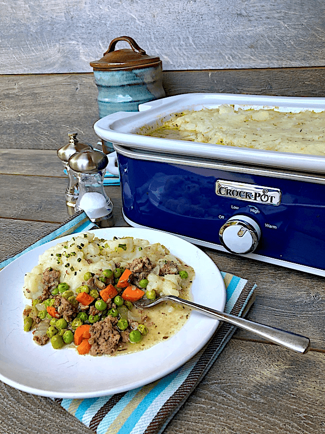 Crock pot shepherd's pie