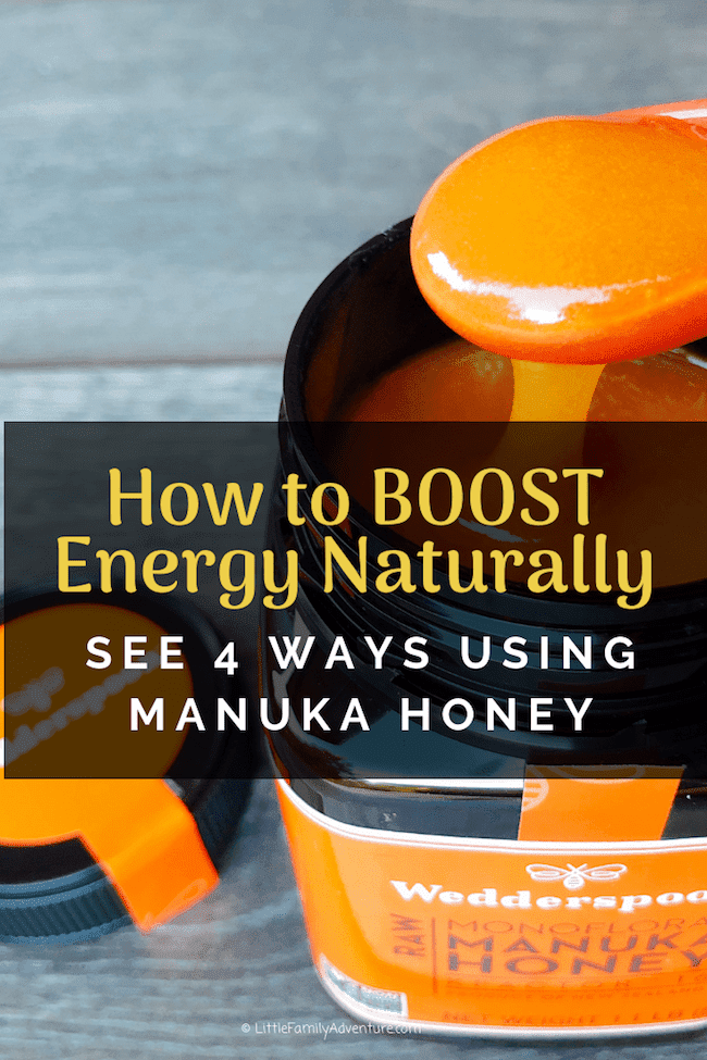 4 Ways How To Boost Energy Naturally With Manuka Honey