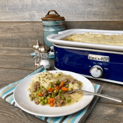 Easy Crock Pot Shepherd's Pie Recipe