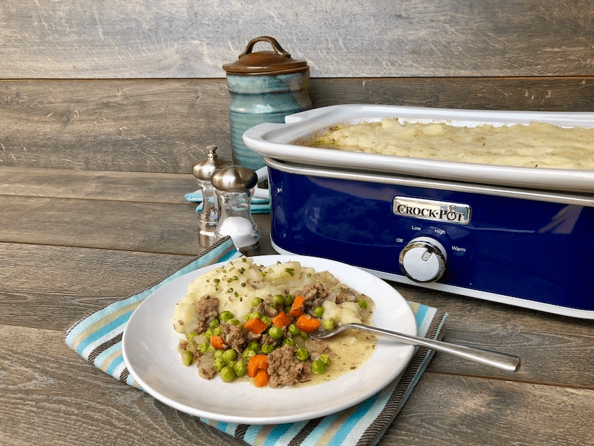 Irish Shepherd's Pie with beef