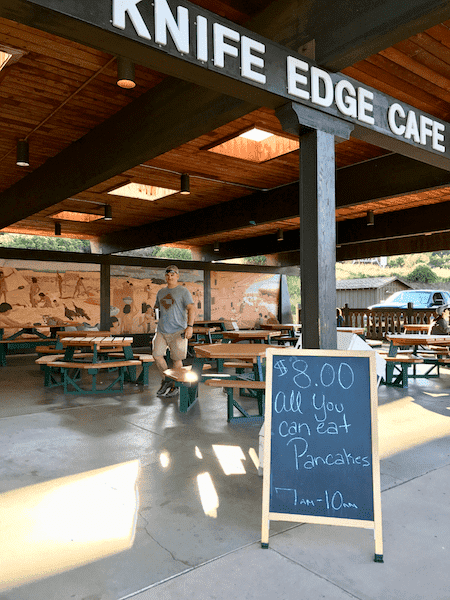 Knife Edge Cafe - Mesa Verde NP