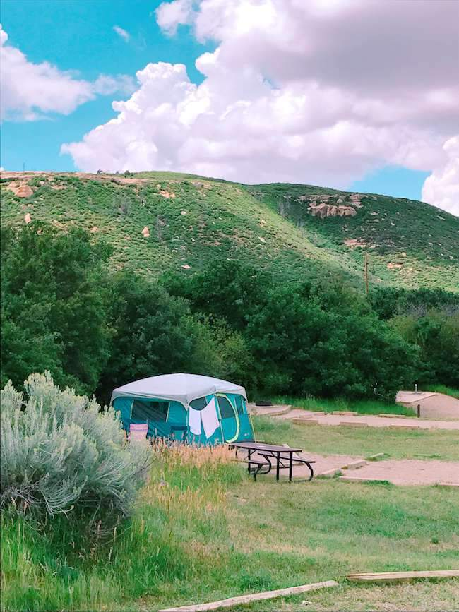 Mesa Verde Camping - Morefield Campground