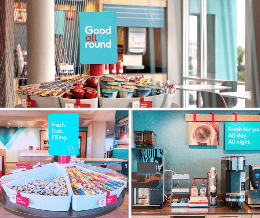 avid Hotels good all around breakfast