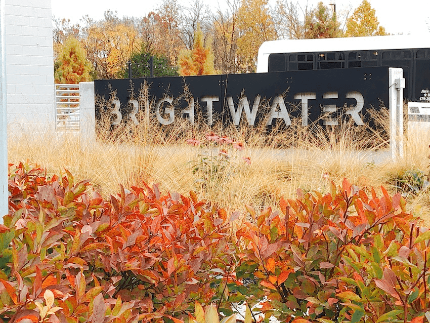 Brighterwater - culainry school sign