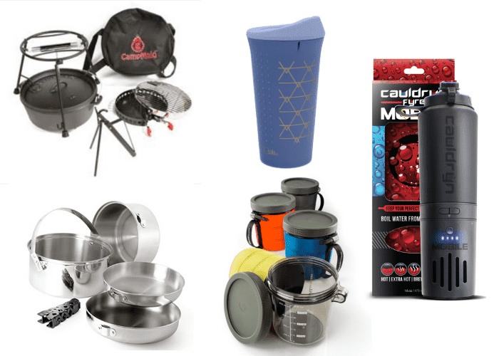 Camp Cookware - cool camping gadgets