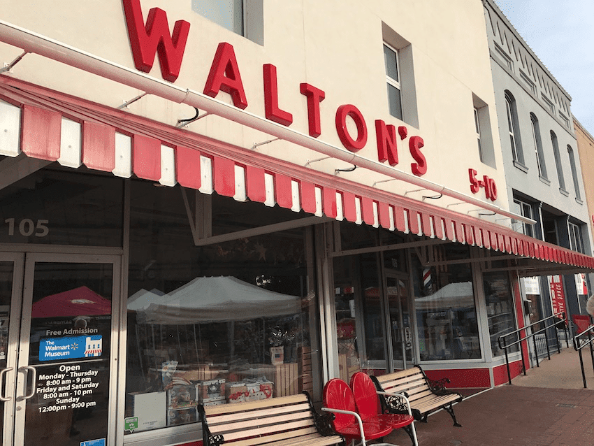 Walton 5 and 10 store