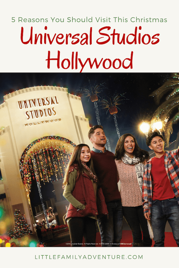 5 Reasons You Should Visit Universal Studios Hollywood This Christmas