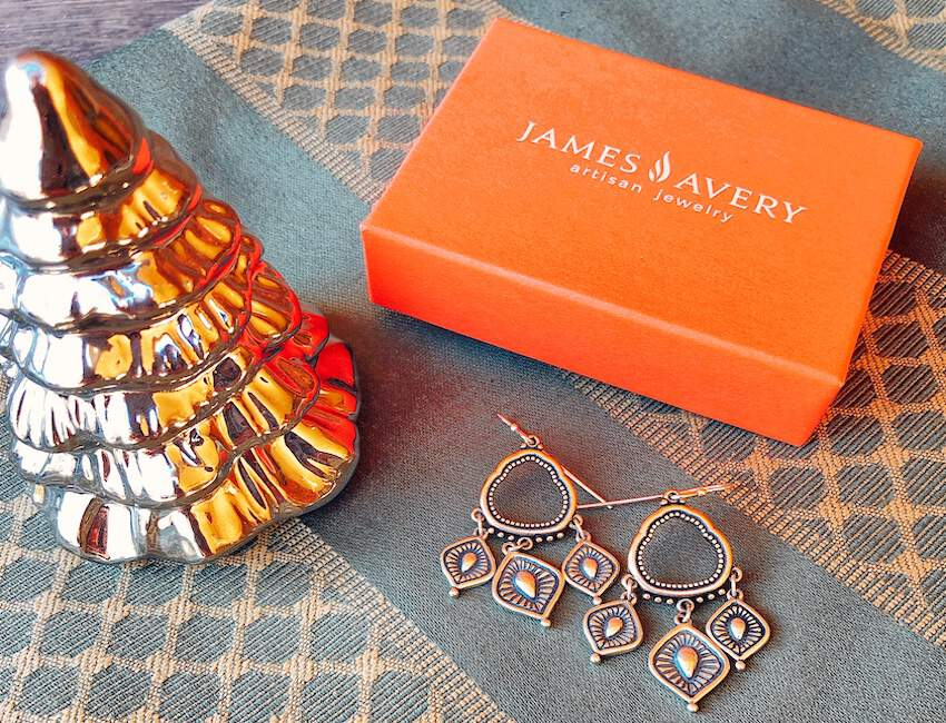 James Avery earrings