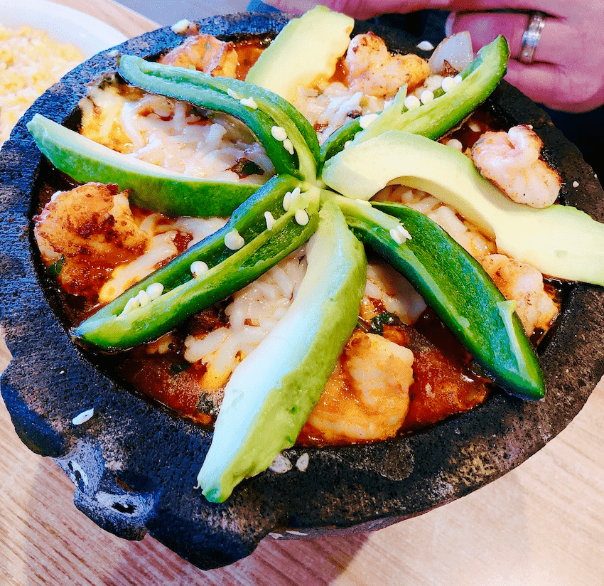 Molcajete at Cafe Garcia