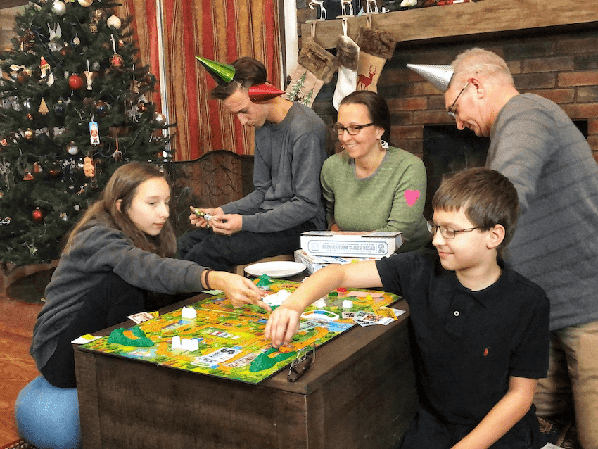 Family Game Night for New Year's Eve