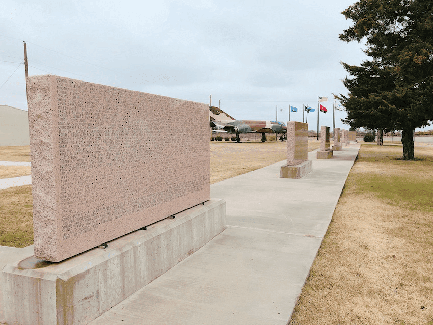 Woodring Wall of Honor and Veterans Park