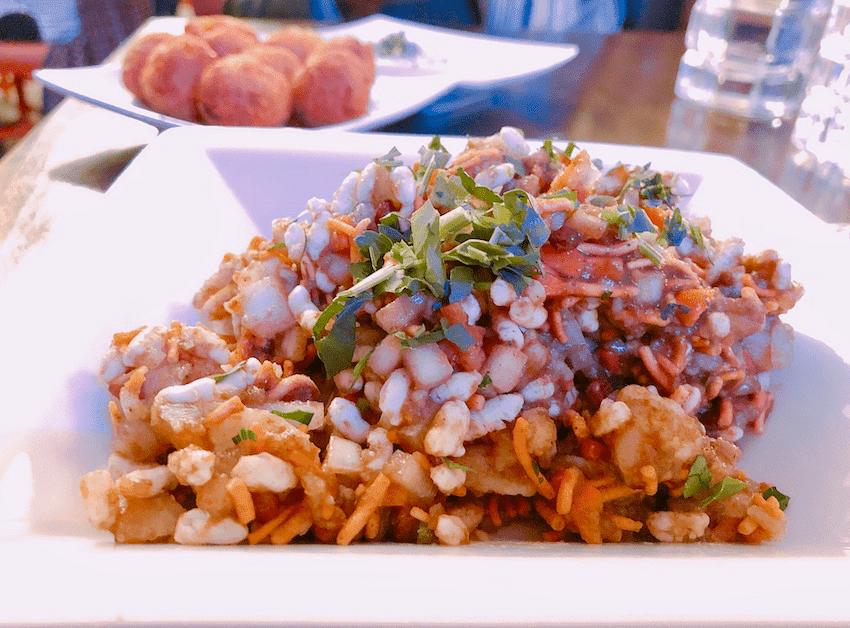 Bhel, Mumbai Street Food at NOLA
