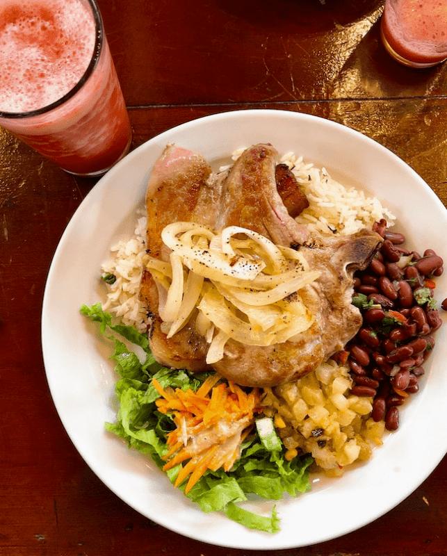 Casado - Traditional Costa Rica lunch