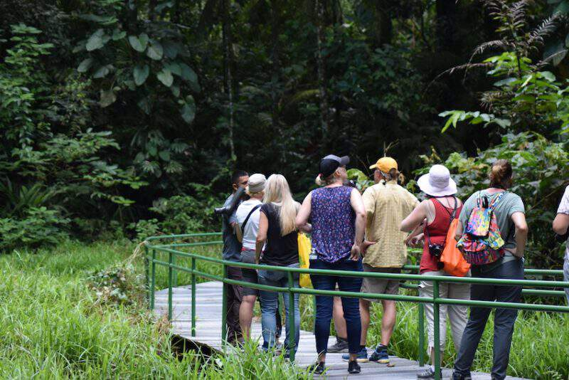 La Selva protected area tour