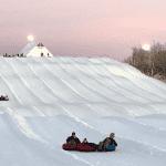 Snow Tubing in Maple Grove