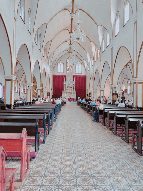 The Catedral de la Mercedes in Grecia