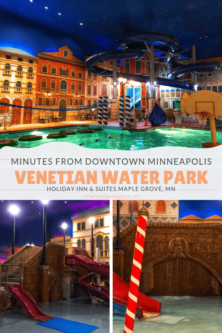 Just minutes from downtown Minneapolis, families enjoy the Holiday Inn Maple Grove for its Indoor Water Park, area attractions and dining.