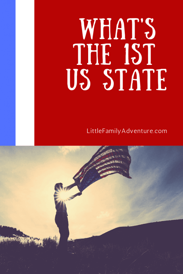 What was the first state in the USA?