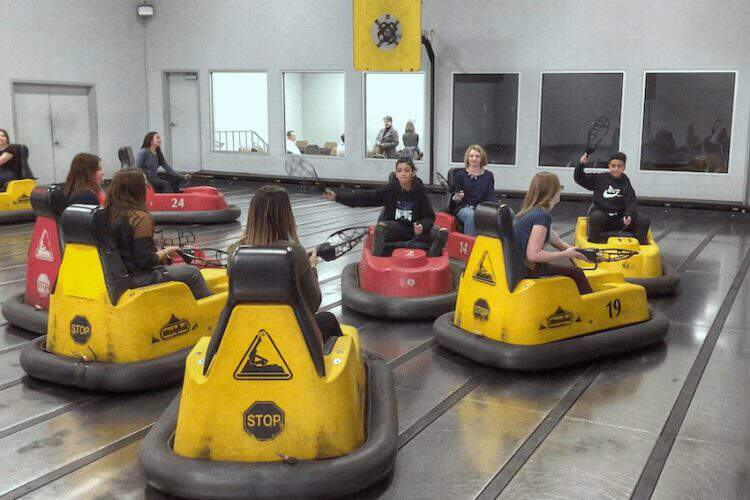 Get in on the Indoor Family Fun with Whirlyball