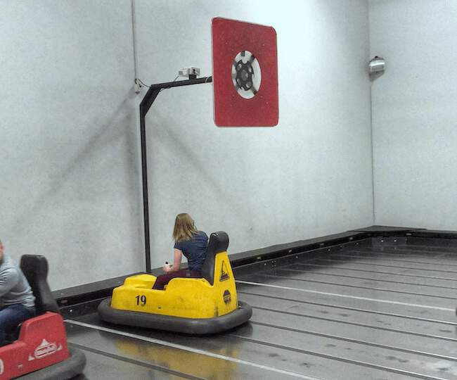 Whirlyball Backboard