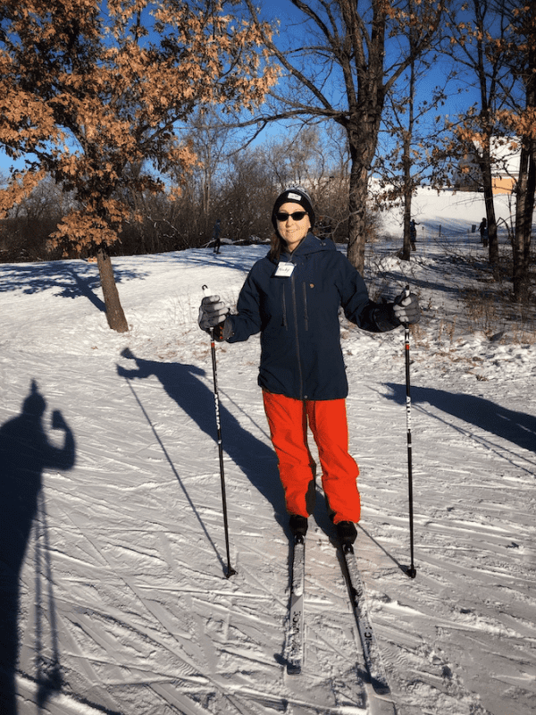 cross country skiing - staying warm