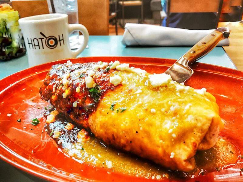 Hatch Burrito
