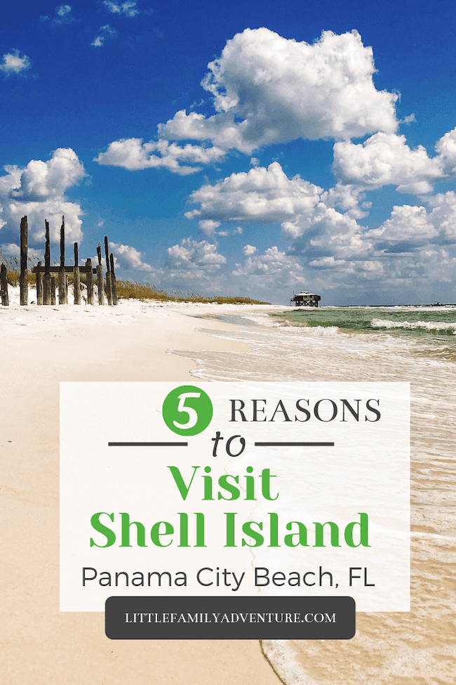 On your next beach getaway, make it Panama City Beach, Florida. When you go we've got the perfect spot for you to escape to, Shell Island. This barrier island is perfect for a day at the beach, snorkeling, and spotting wild dolphins. #florida #beach #gulfcoast #travel