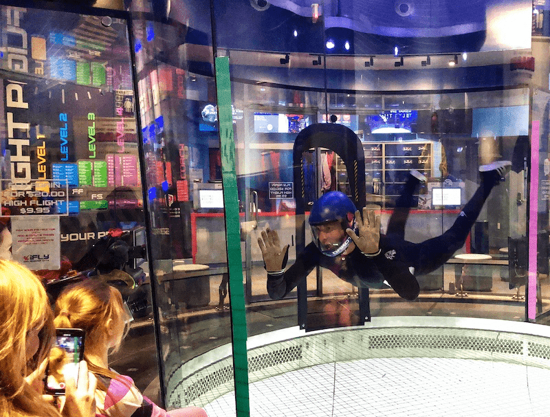 ifly skydiving bodyflier