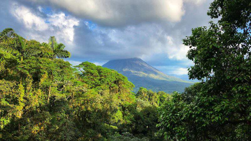 Arenal Volcano - Costa Rica Rainforest