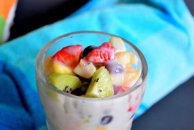 Creamy Summer Fruit Salad