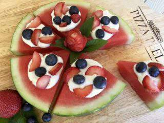 Berry Sweet Watermelon Pizza + prAna Giveaway