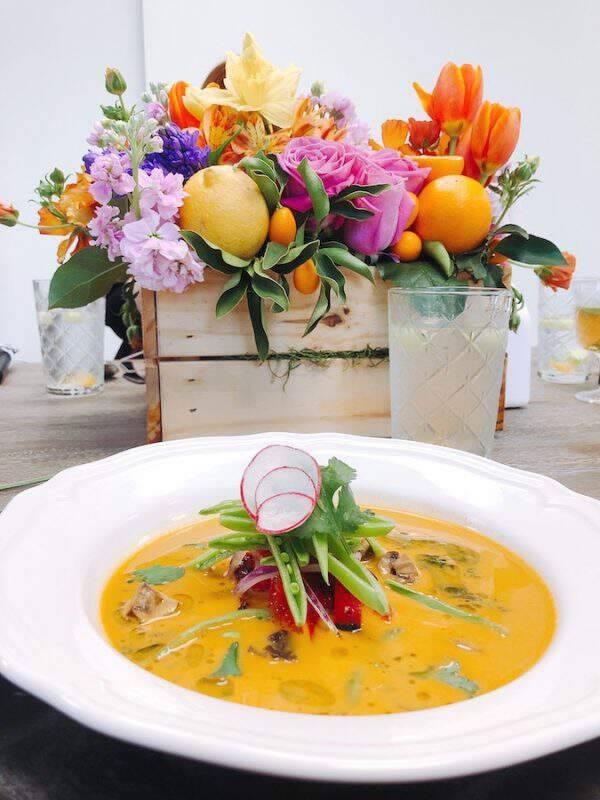 Thai Coconut Soup - Vegan, Keto, Whole30