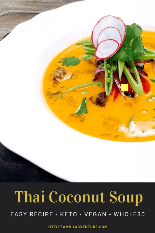 Thai Coconut Soup Kego Vegan