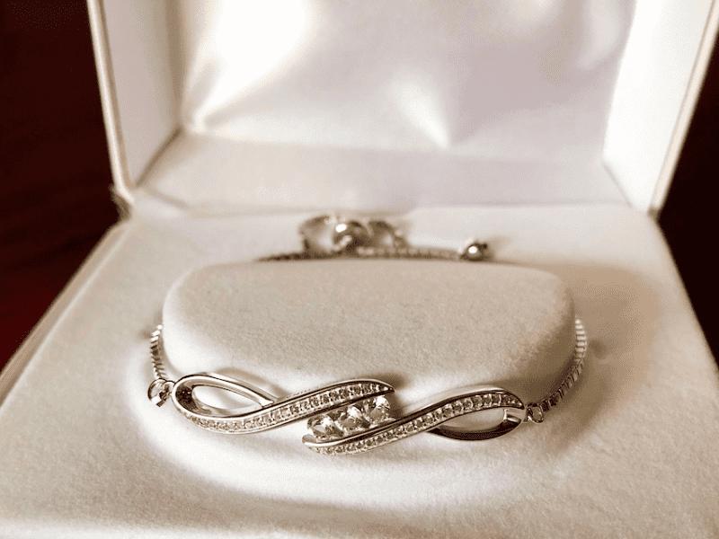 White Sapphire Bracelet