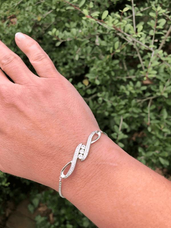 White Sapphire Bracelet from Kohls
