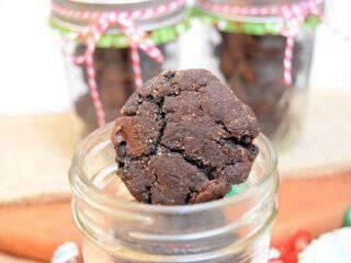 Spicy Double Dark Chocolate Snickerdoodle Cookies