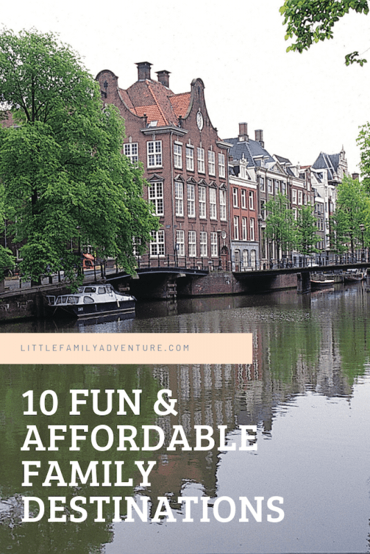 Amsterdam - budget friendly travel