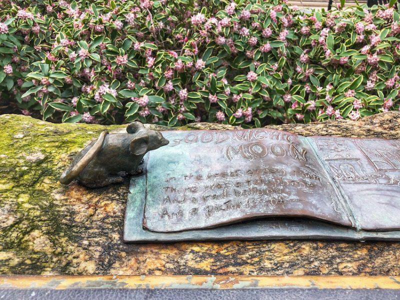 Mice on Main Statue
