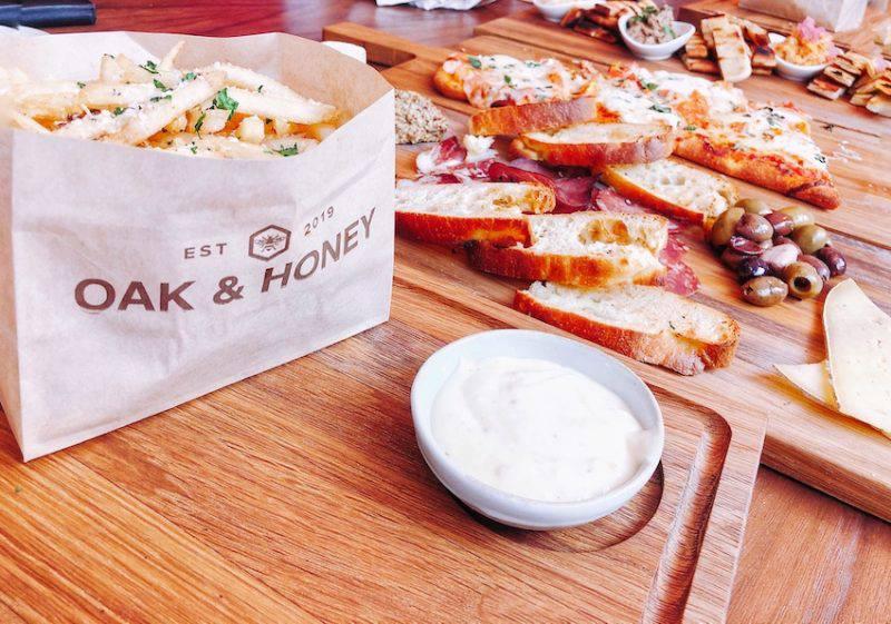 Oak & Honey small plate appetizers