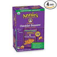 Annie's Organic Cheddar Bunnies (Baked Crackers)
