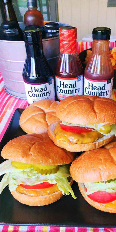 BBQ Burgers with Head Country